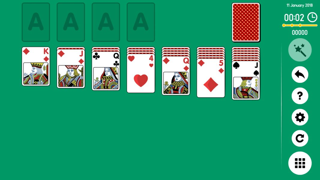 Level 2018-01-11. Online Solitaire
