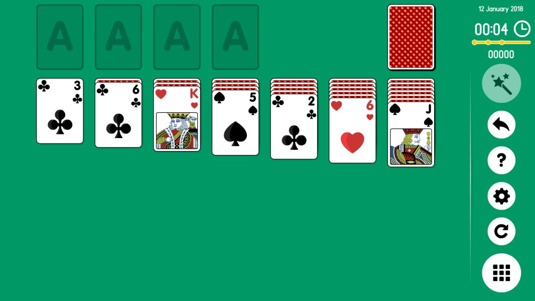 Level 2018-01-12. Online Solitaire
