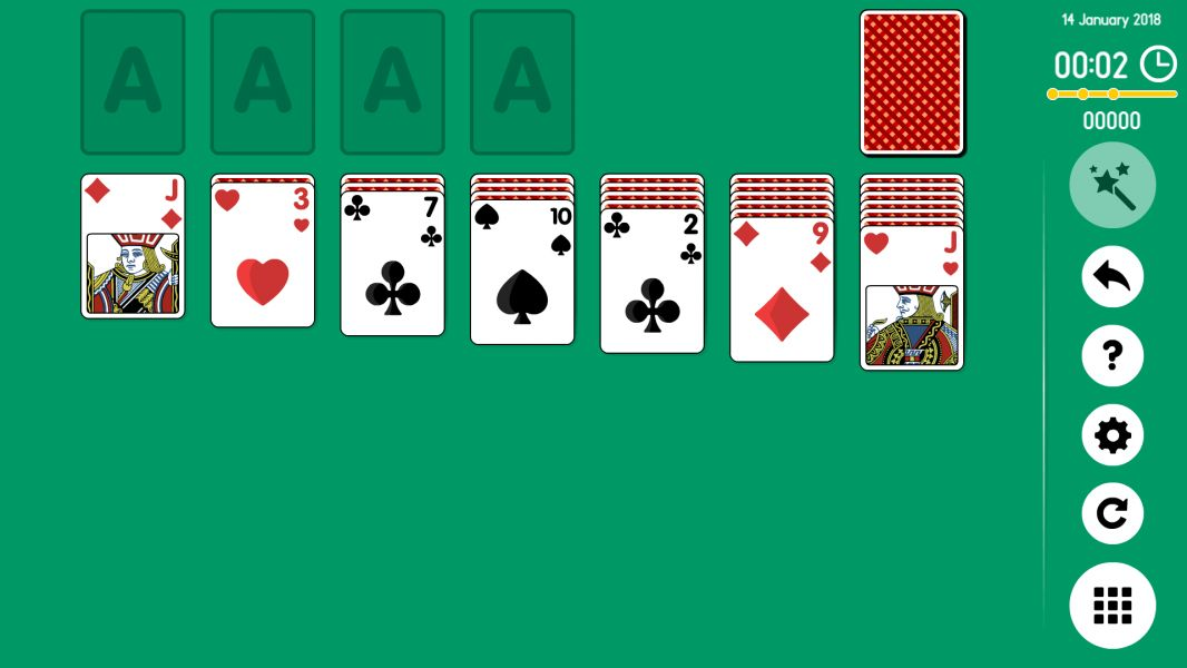 Level 2018-01-14. Online Solitaire