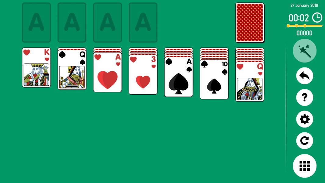 Level 2018-01-27. Online Solitaire