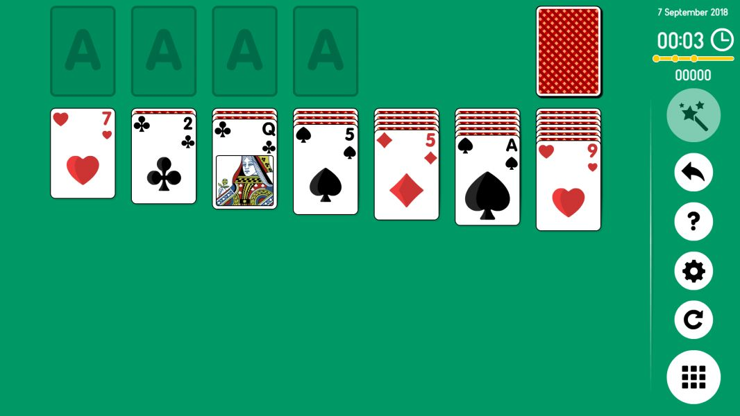 Level 2018-09-07. Online Solitaire