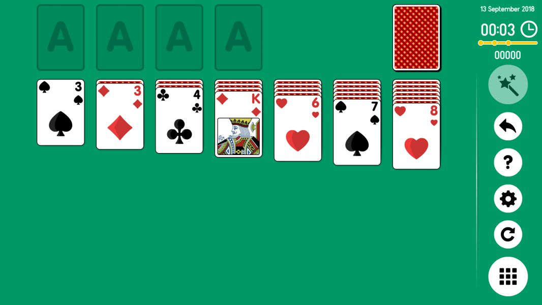 Level 2018-09-13. Online Solitaire