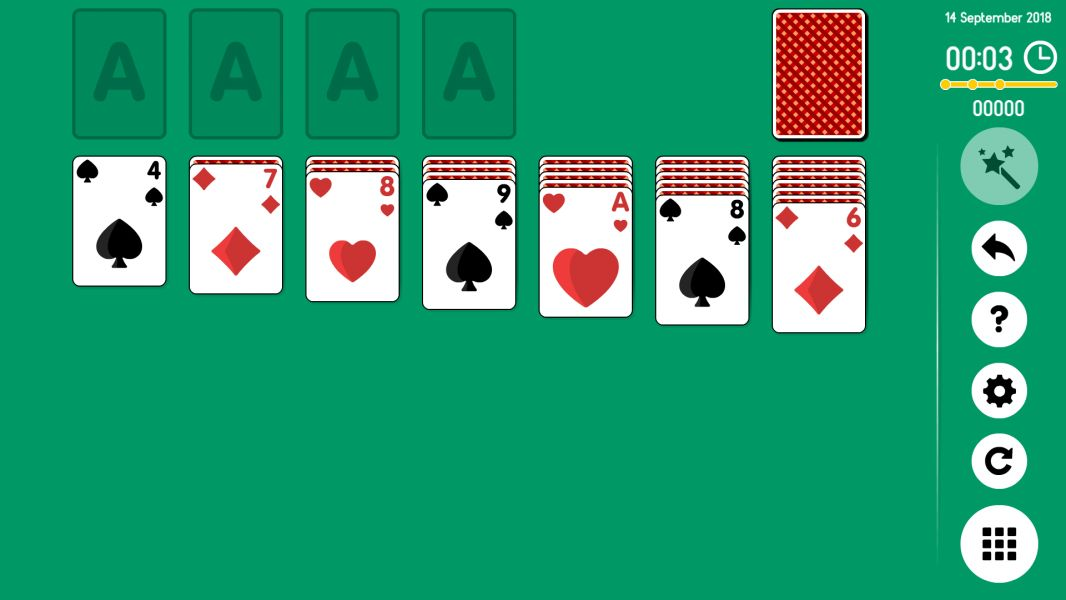Level 2018-09-14. Online Solitaire