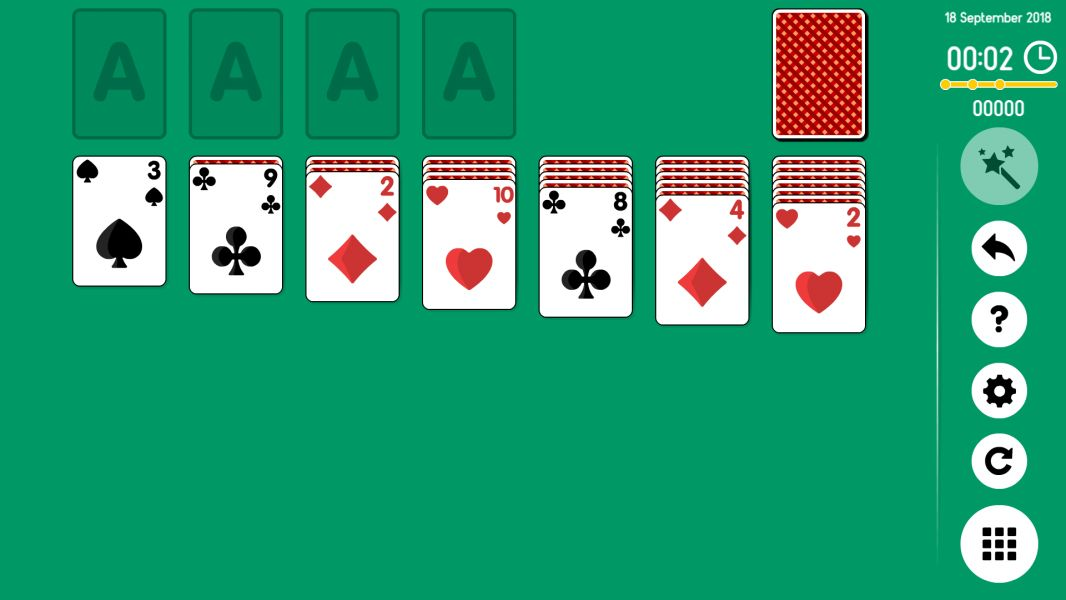 Level 2018-09-18. Online Solitaire