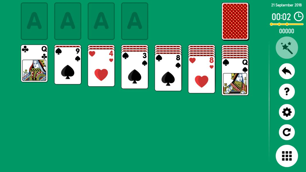 Level 2018-09-21. Online Solitaire