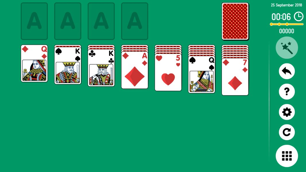 Level 2018-09-25. Online Solitaire