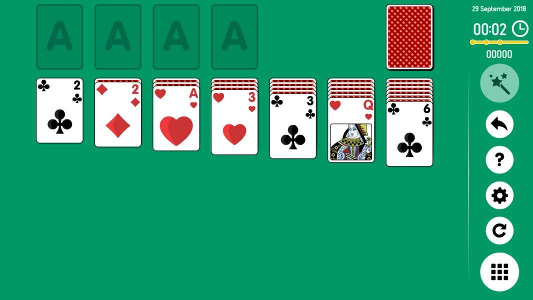 Level 2018-09-29. Online Solitaire