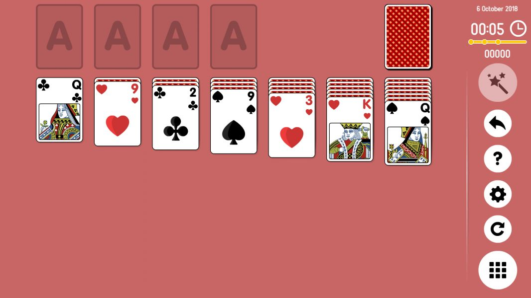 Level 2018-10-06. Online Solitaire