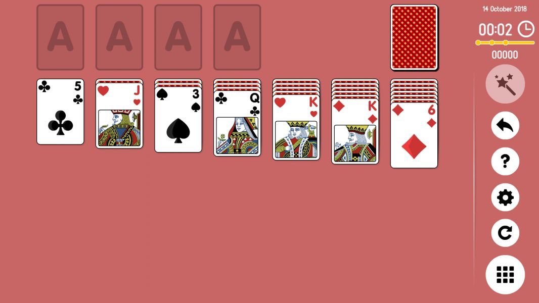 Level 2018-10-14. Online Solitaire