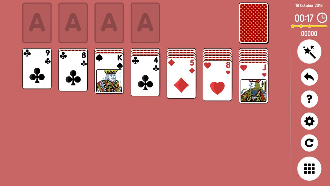 Level 2018-10-18. Online Solitaire