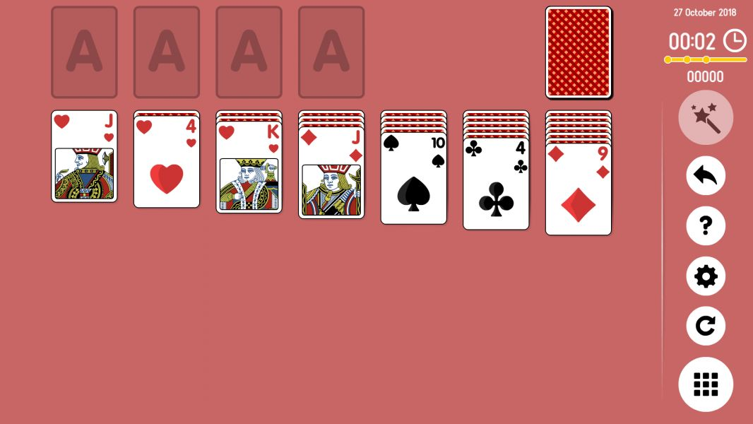 Level 2018-10-27. Online Solitaire