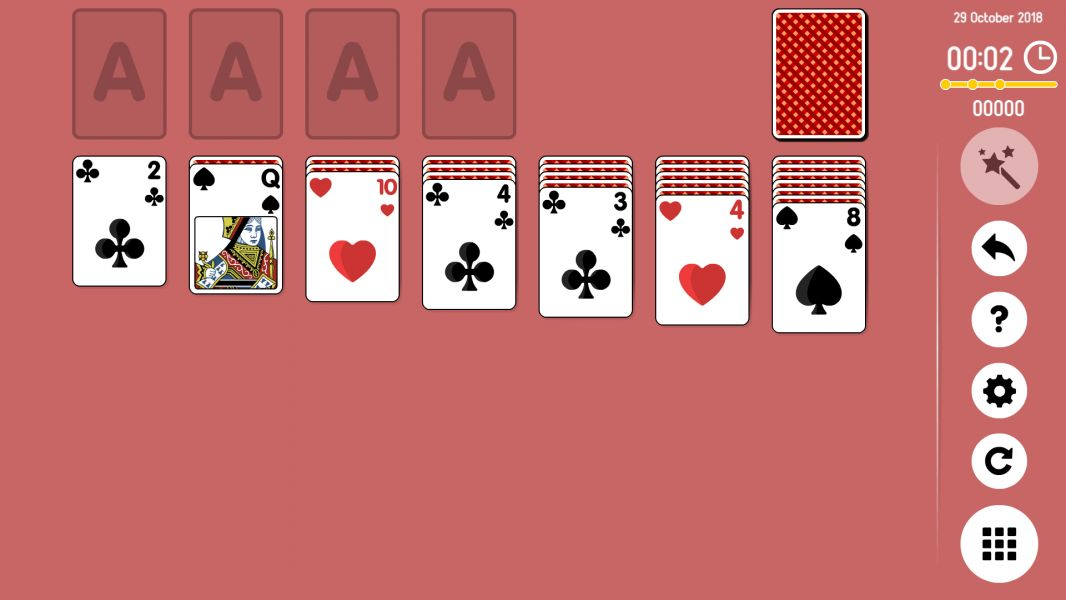 Level 2018-10-29. Online Solitaire