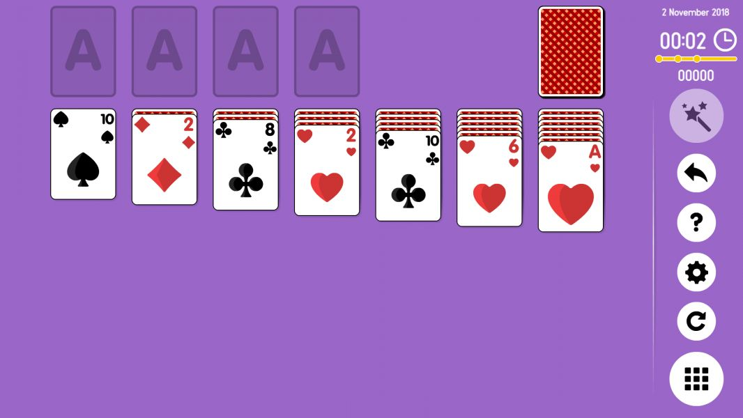 Level 2018-11-02. Online Solitaire