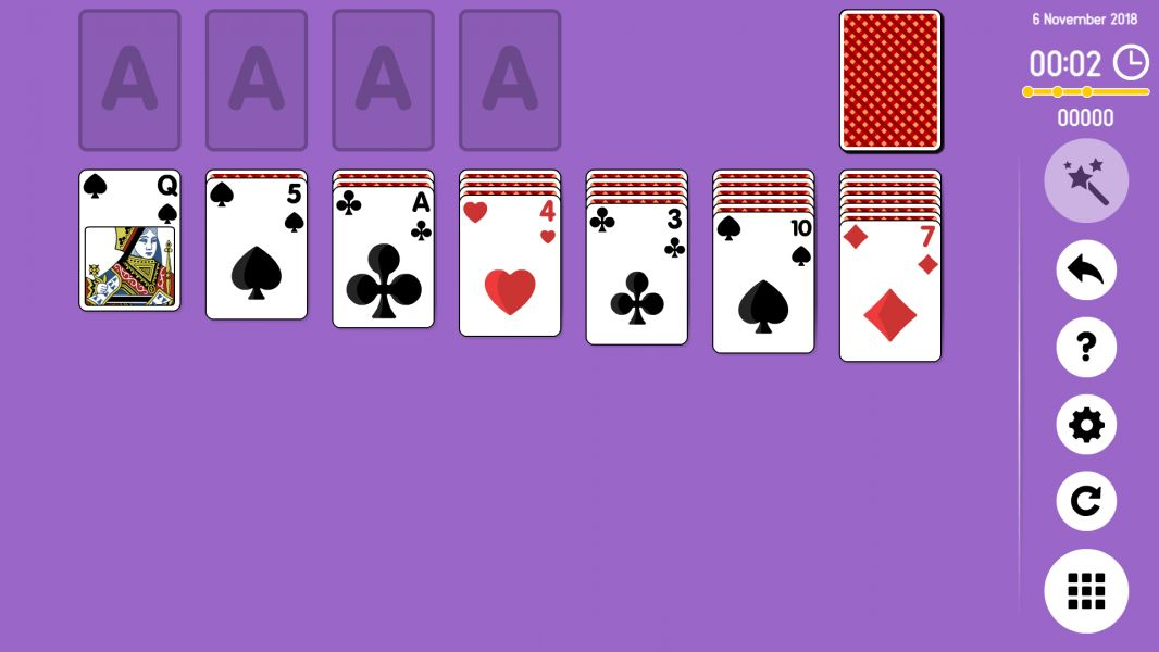 Level 2018-11-06. Online Solitaire
