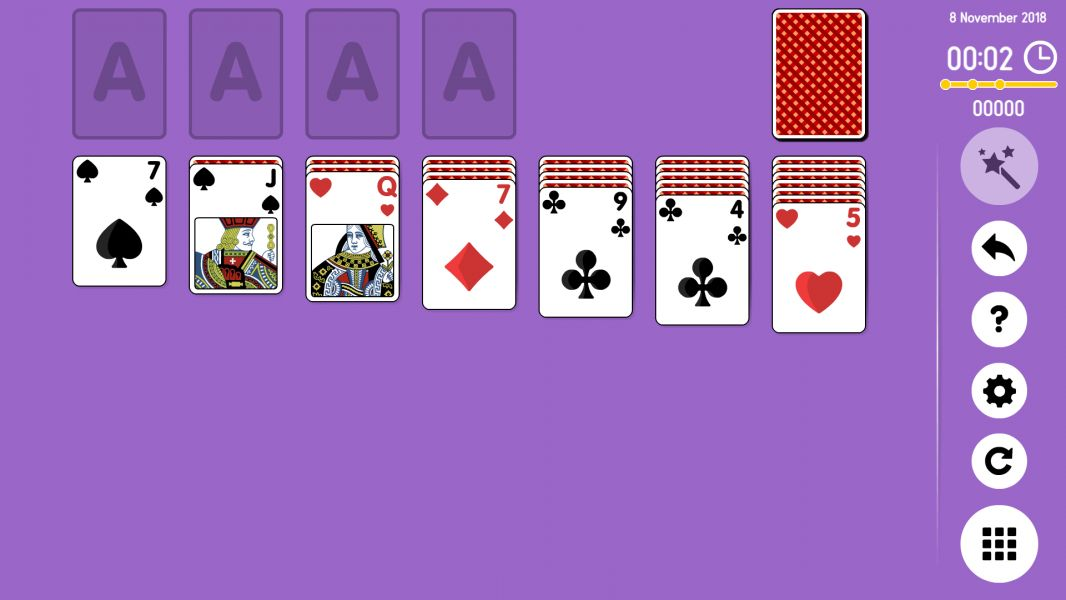 Level 2018-11-08. Online Solitaire