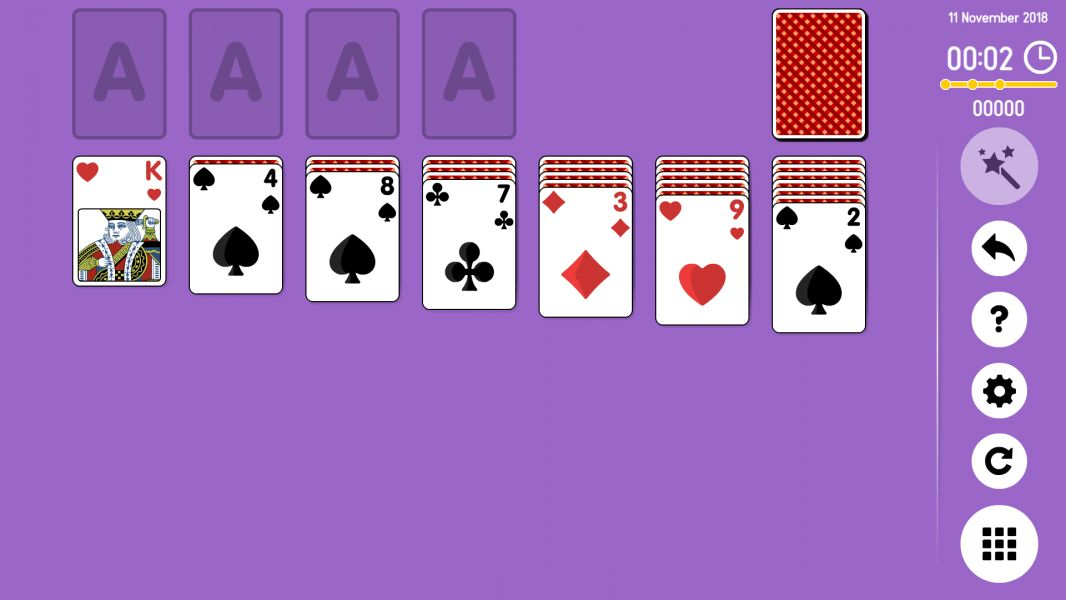Level 2018-11-11. Online Solitaire