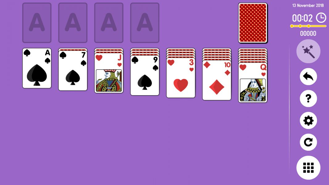 Level 2018-11-13. Online Solitaire