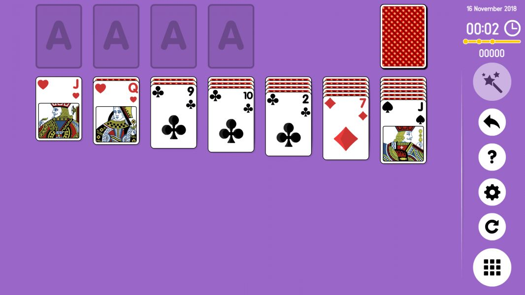 Level 2018-11-16. Online Solitaire