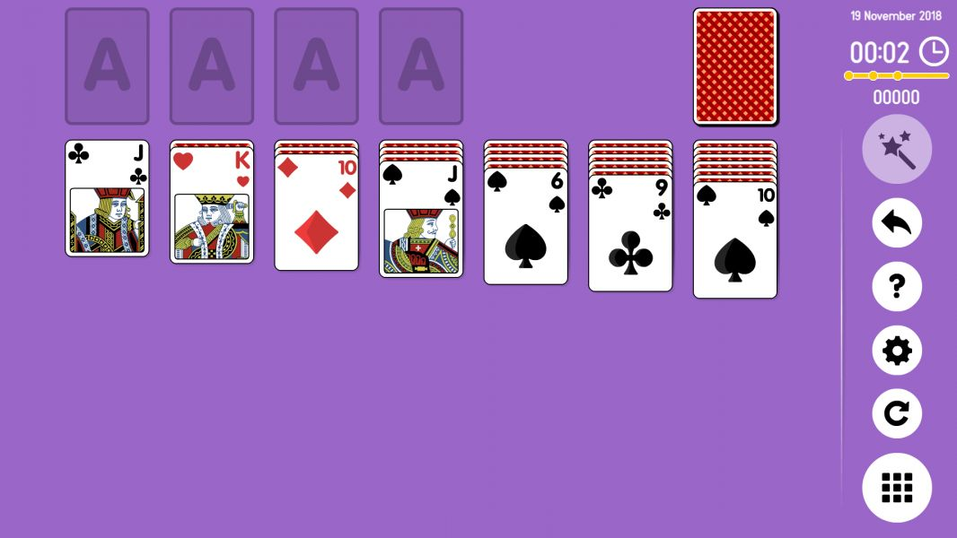 Level 2018-11-19. Online Solitaire