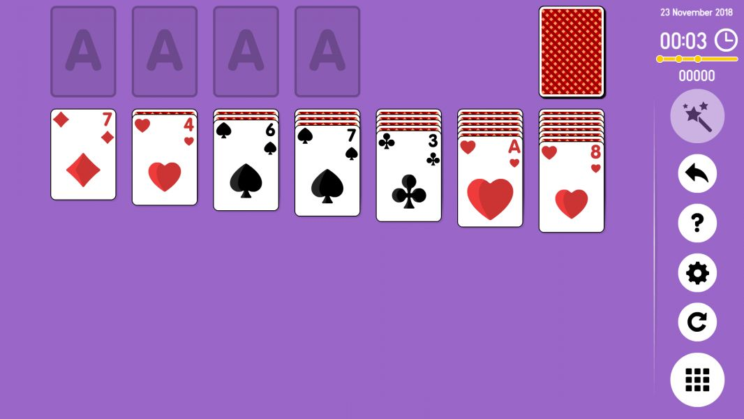 Level 2018-11-23. Online Solitaire