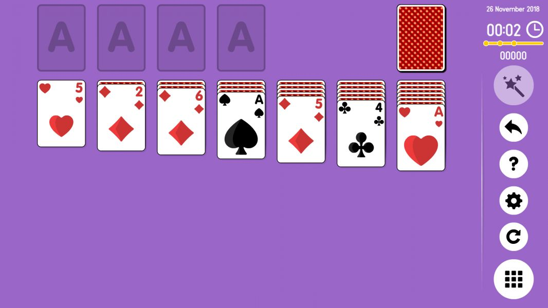 Level 2018-11-26. Online Solitaire