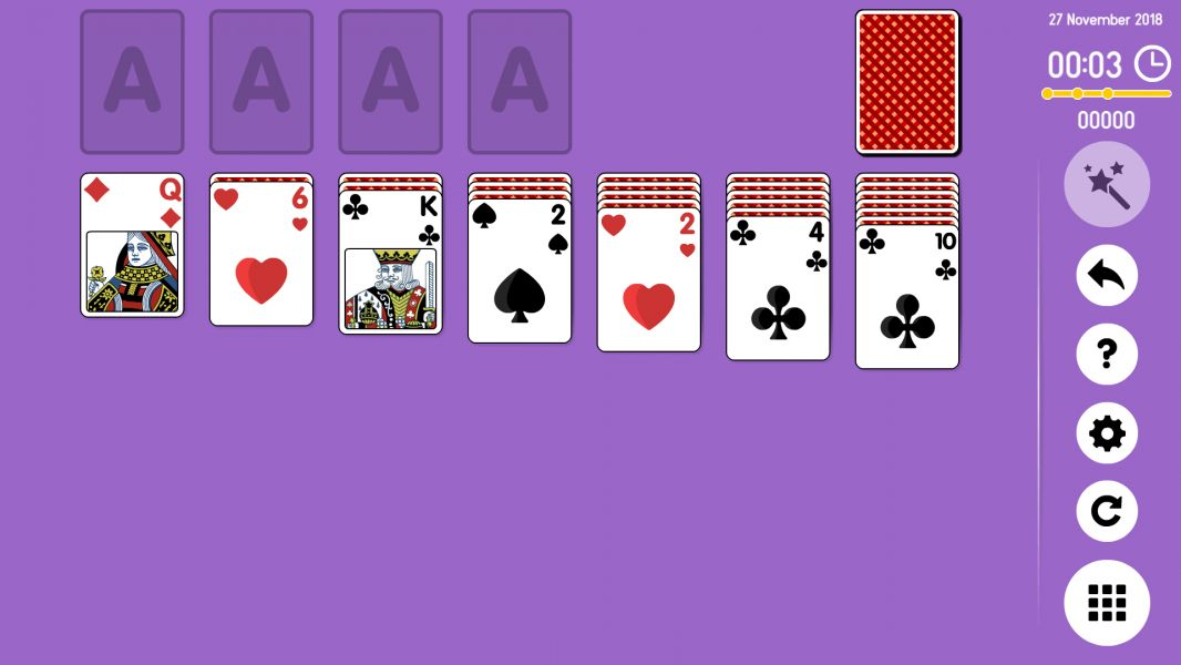 Level 2018-11-27. Online Solitaire