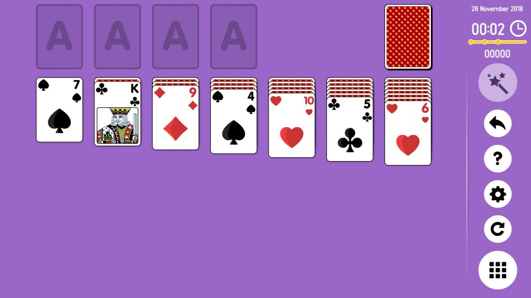 Level 2018-11-28. Online Solitaire