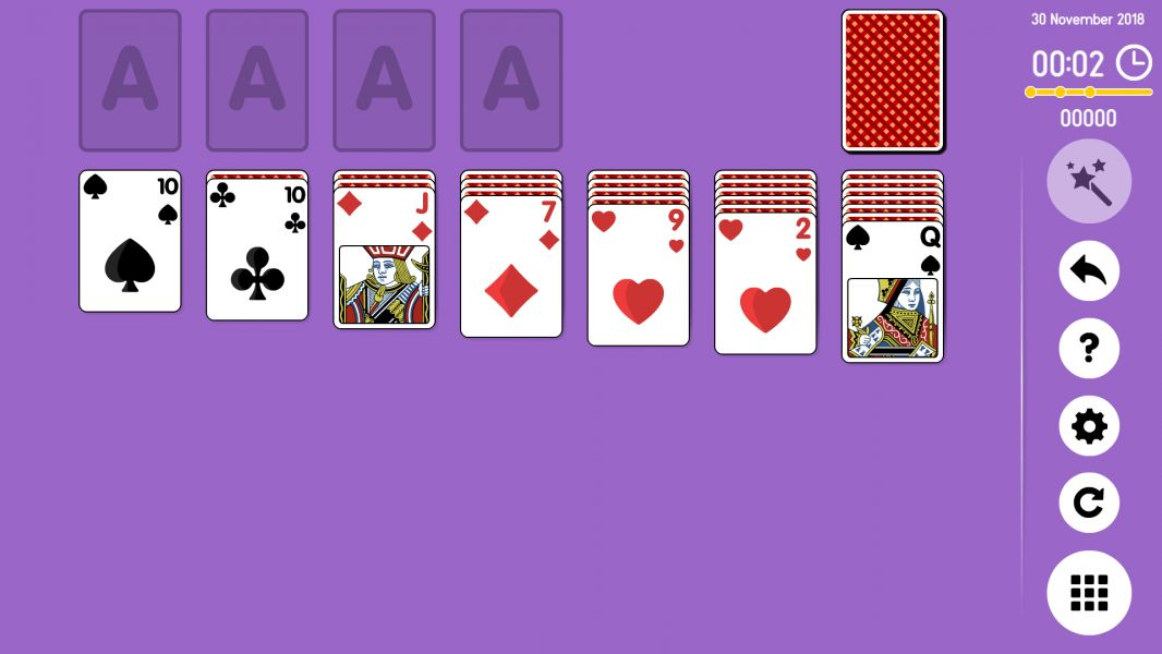 Level 2018-11-30. Online Solitaire