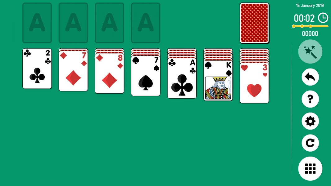 Level 2019-01-15. Online Solitaire