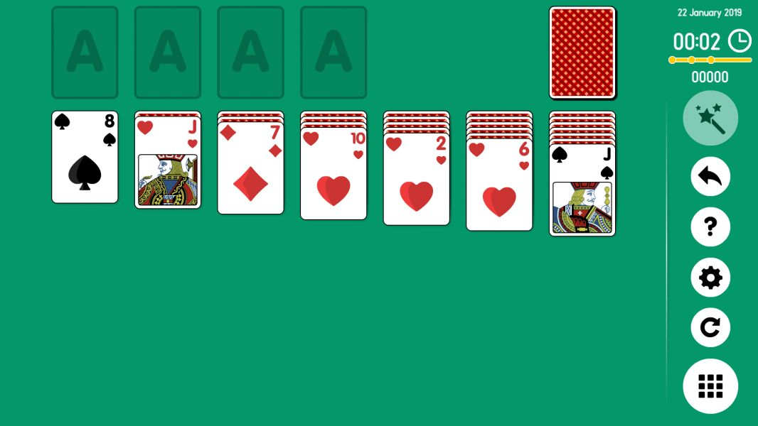 Level 2019-01-22. Online Solitaire