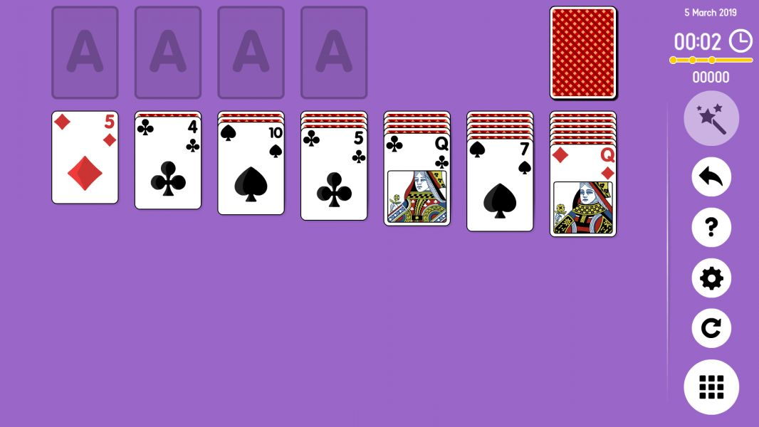 Level 2019-03-05. Online Solitaire