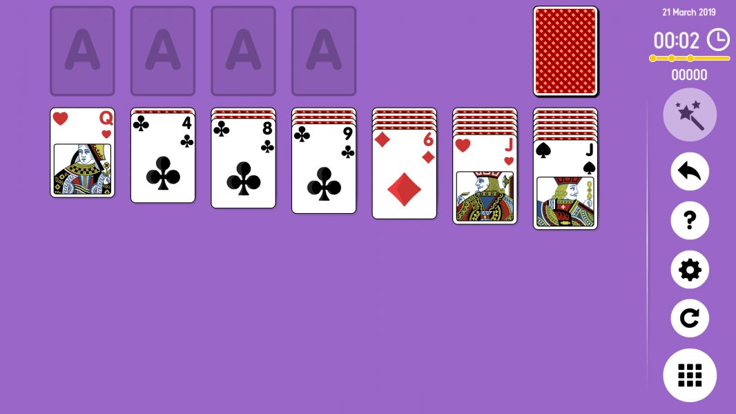 Level 2019-03-21. Online Solitaire