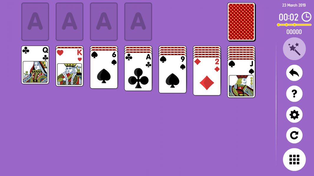 Level 2019-03-23. Online Solitaire
