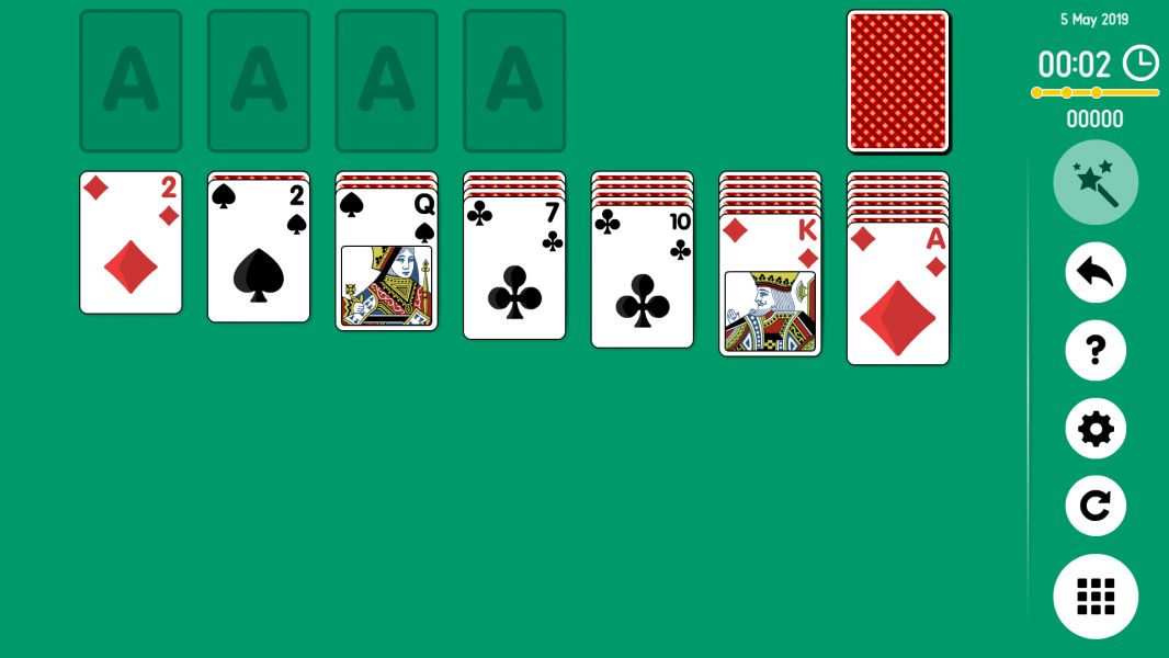 Level 2019-05-05. Online Solitaire