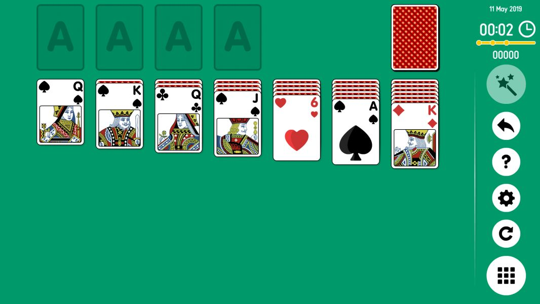 Level 2019-05-11. Online Solitaire
