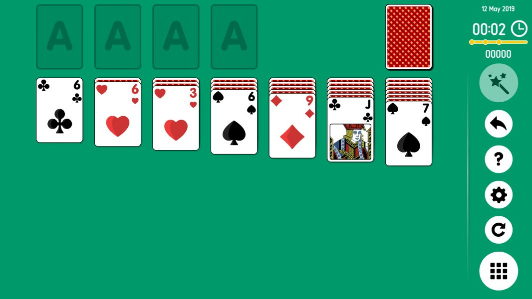 Level 2019-05-12. Online Solitaire