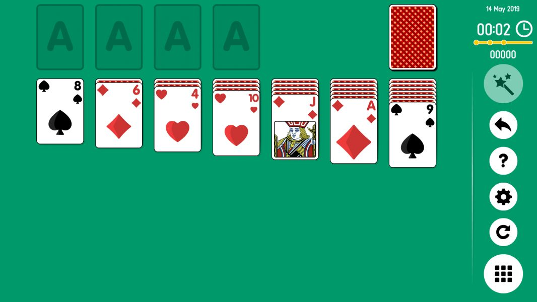 Level 2019-05-14. Online Solitaire