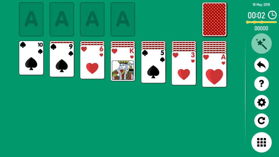 Level 2019-05-19. Online Solitaire